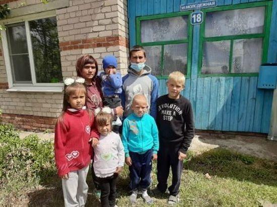 Жительница Южного Урала может остаться с шестью детьми на улице