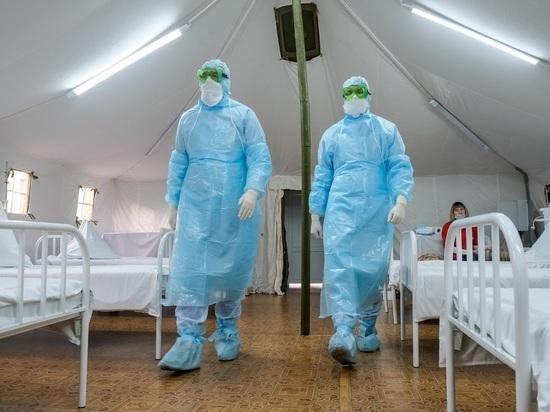 Больше всего новых случаев коронавируса снова пришлось на Волгоград