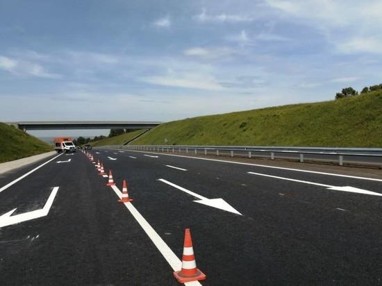 Ремонт скоростной магистрали в Новокузнецке завершат раньше срока