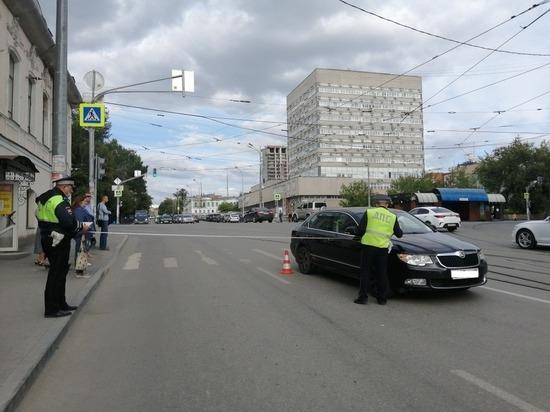 В Екатеринбурге водитель Шкоды сбил 11-летнего велосипедиста