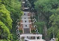 Турмаршрут по Каскадной лестнице запускают в Железноводске