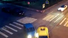 В Санкт-Петербурге известный блогер помял Lamborghini в ДТП
