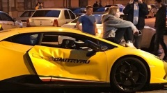 Появилось видео аварии с Lamborghini известного блогера