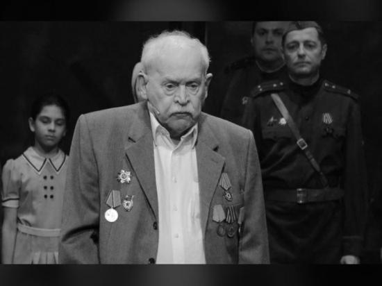 Скончался старейший артист театра Российской армии Александр Петров