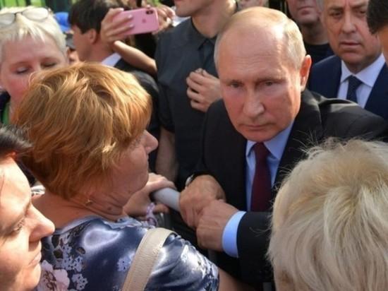 Путин: поправки в Конституцию вступают в силу по воле народа