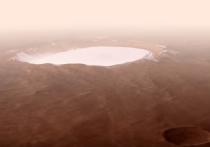 Европейское космическое агентство опубликовало видеоролик, посвященный кратеру Королева на Марсе