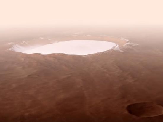 ESA посвятило видеоролик марсианскому кратеру Королева