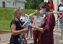 Региональные руководители Подмосковья посетили «Семейный городок» в Серпухове