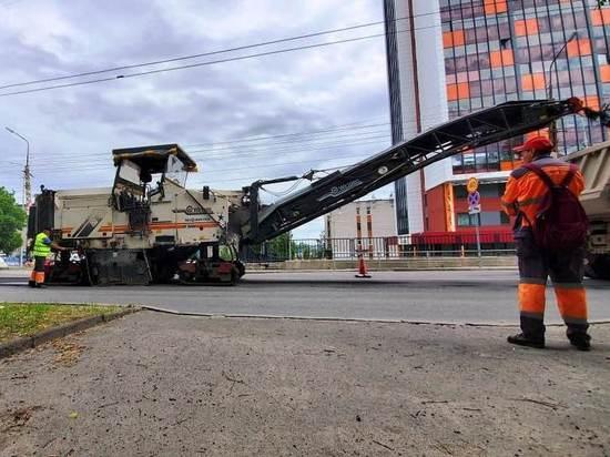В Петрозаводске начали ремонтировать Первомайский проспект