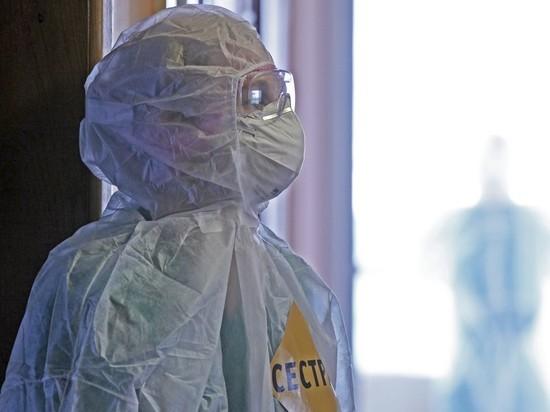 В России зарегистрировано 6632 новых случая коронавируса