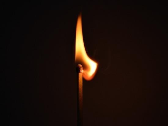 В Новосимбирке сгорела квартира