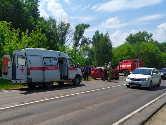 7 человек пострадали в ДТП в Кимовске
