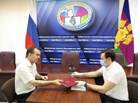 Вениамин Кондратьев подал заявление на участие в выборах губернатора