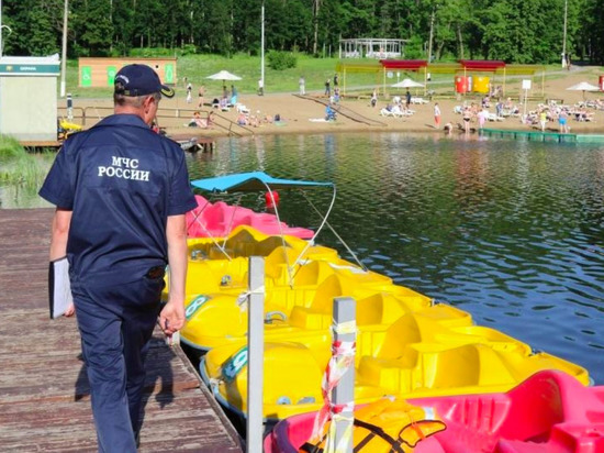 В Туле усилено патрулирование водных зон отдыха