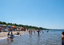 Вода в Волге прогрелась до 22 градусов у берегов Волгограда