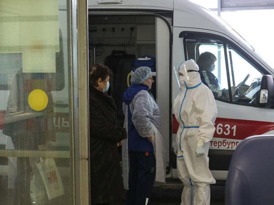 В Петербурге резко выросло число заболевших коронавирусом