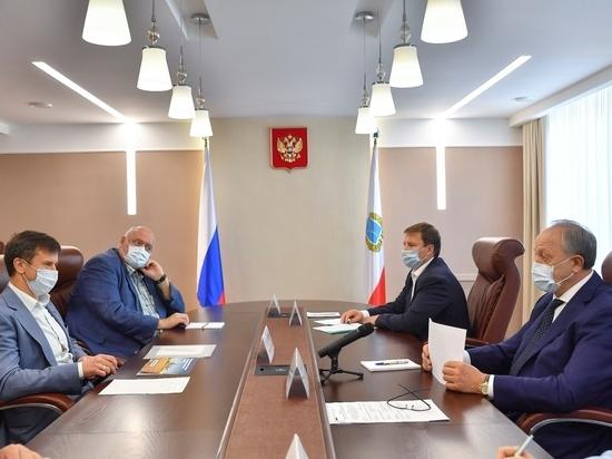 Губернатору Радаеву пообещали из пшеницы сделать  аминокислоту