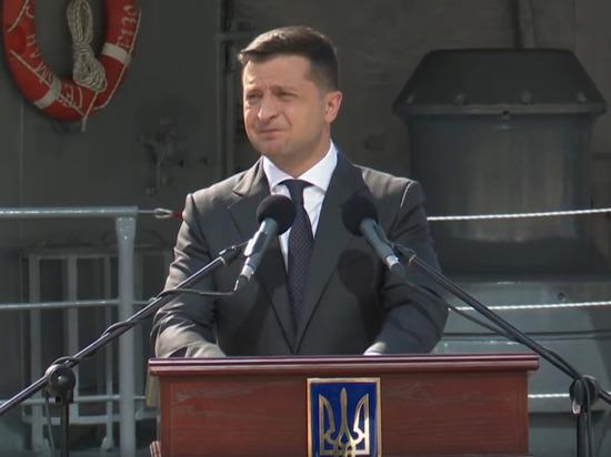 Зеленский заявил, что не простит тех, кто забрал Крым у Украины