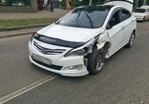 Очередное ДТП с такси произошло в Новосибирске
