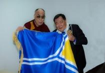 Шолбан Кара-оол от имени верующих Тувы поздравил Далай-Ламу XIV с днем рождения