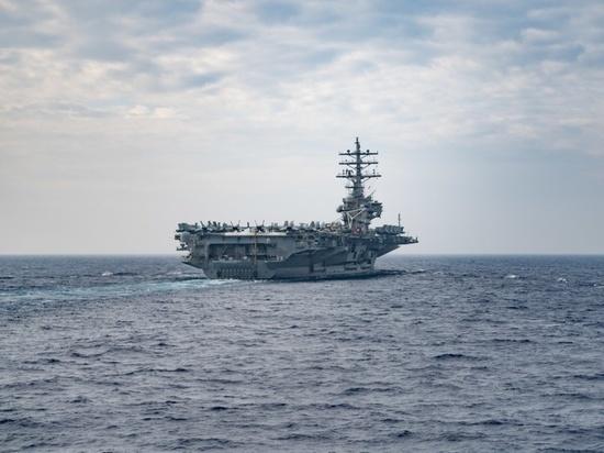 На фоне обострения отношений между США и КНР две страны одновременно начали военные учения