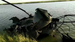 В Ростовской области упал вертолет Ми-2