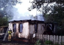Пожар в селе Барангулово унес жизнь молодого мужчины