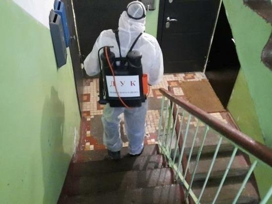 Очередную дезинфекцию домов провели в Нижнем Новгороде