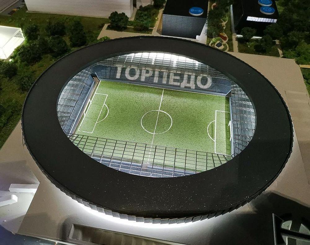 """Подарок на столетие: """"Торпедо"""" получит новый стадион в 2024 году"""