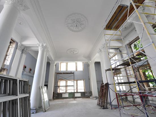 В новом здании Дворца бракосочетания Тверской области проводят капитальный ремонт фасада и внутренних помещений