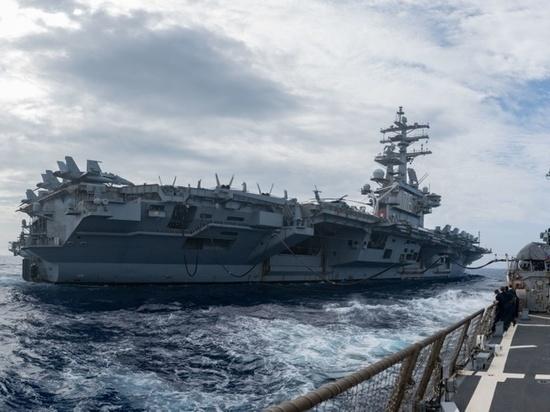 Эксперт назвал истинные цели учений США в Южно-Китайском море