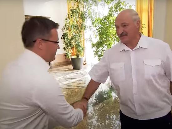 Появился фильм, где Лукашенко вышел босиком после встречи с Путиным