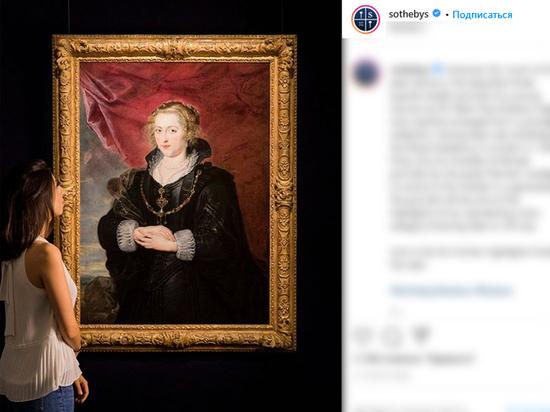 Давно потерянную картину Рубенса нашли в Лондоне