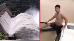 После недели ливней Китай ушел под воду: видео очевидцев