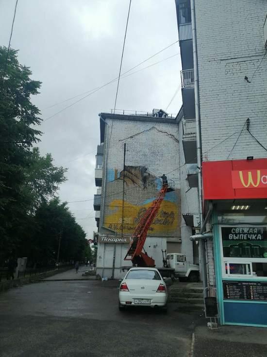 Новое граффити с Солженицыным появится в Твери по просьбе губернатора