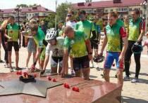 На Сахалине состоялся велопробег «Огонь Победы»