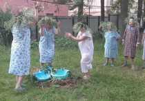 В Касимовском комплексном центре социального обслуживания населения отметили праздник Ивана Купала