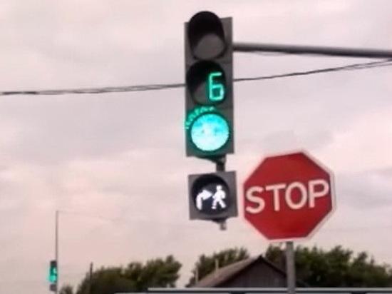 В Марий Эл появились светофоры с режимом бело-лунного мигания