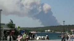 Власти Турции перекрыли Дарданеллы из-за крупного пожара