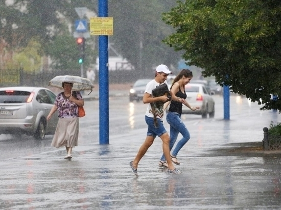 Вечером 7 июля липчане могут попасть под дождь