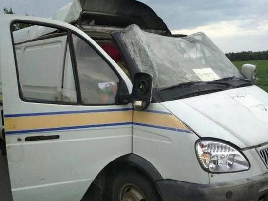 Под Полтавой взорвали автомобиль «Укрпочты», перевозивший несколько миллионов гривен