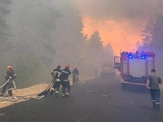 Около 400 военнослужащих и 30 единиц техники из состава Операции объединенных сил привлечены к тушению пожара в Луганской области, на подконтрольной Киеву территории