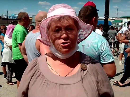 Пожилые жители Соль-Илецка просят бесплатный вход на озера