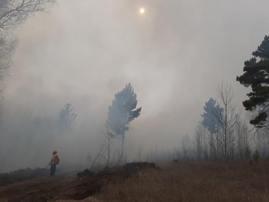 Более 1000 га леса горит в Забайкалье, но дым над Читой не от этого