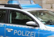 Германия: Пьяный водитель грузовика застрял на пешеходном мосту