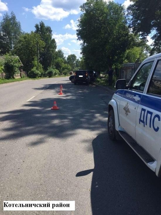 В Котельничском районе в ДТП пострадал шестилетний ребёнок