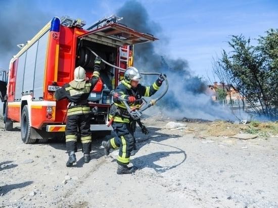 Андрей Бочаров поручил усилить пожарную безопасность в Волгоградской области