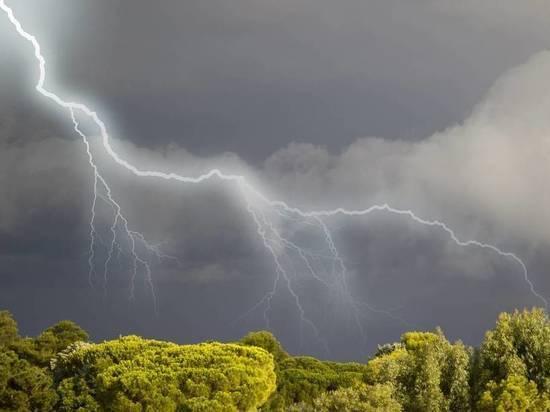 Ярославцам пообещали грозу, проливной дождь и штормовой ветер