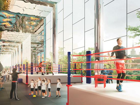 К 2023 году в столице построят почти 50 спортивных сооружений