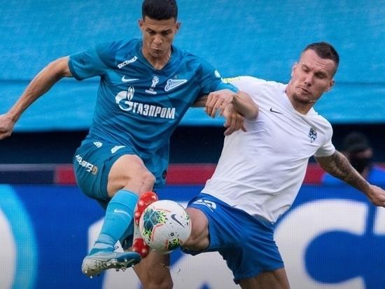 Сочинцы проиграли «Зениту» в игре Российской Премьер-Лиги
